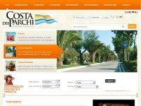 Costadeiparchi.it (1° realise) sviluppato dal Team dell' Informatico Agenzia Web a Teramo